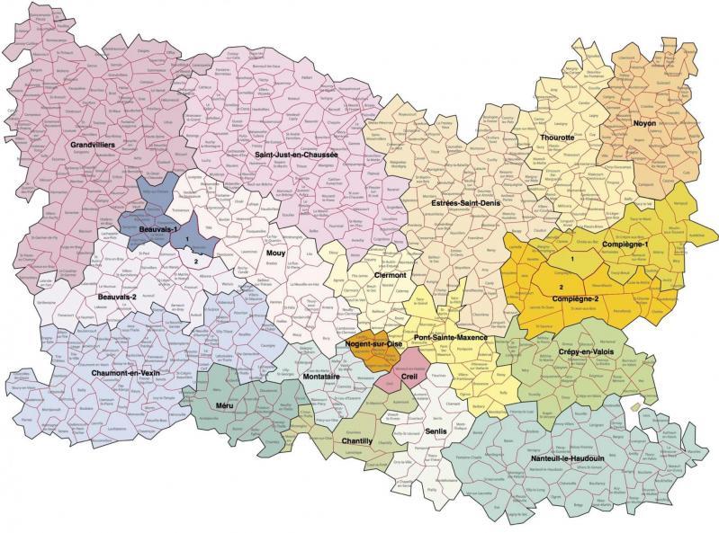 Oise et cantons