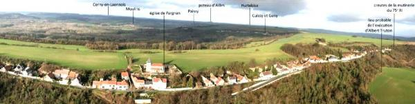 Pargnan aisne vue panoramique marquee