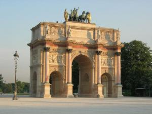 Paris paris l arc de triomphe du carrousel