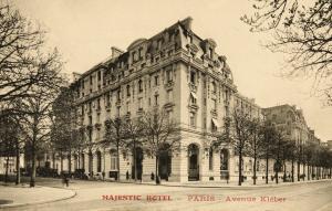 Paris paris l hotel majestic cpa