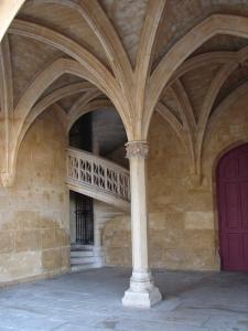 Paris paris le palais des thermes de cluny