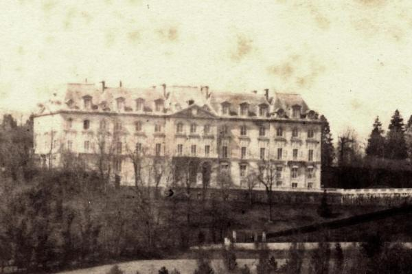 Photographie chateau neuf intact avant 1871