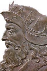 Portrait roi de france clodion