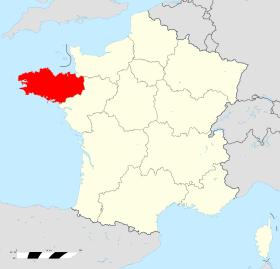 Region bretagne en france