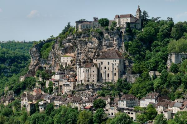Rocamadour lot la cite