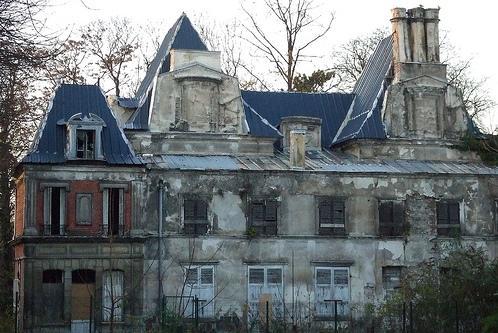 Romainville seine saint denis le chateau en ruines en 2006