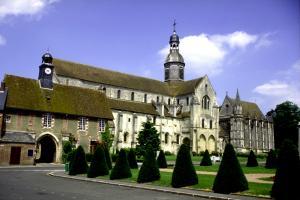 Saint germer de fly oise l abbaye