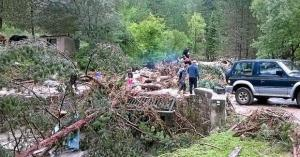 Saint pierre de la fage herault parlatges inondations 2015