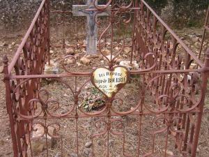 Saint pierre de la fage herault plaque auguste bourrie 1