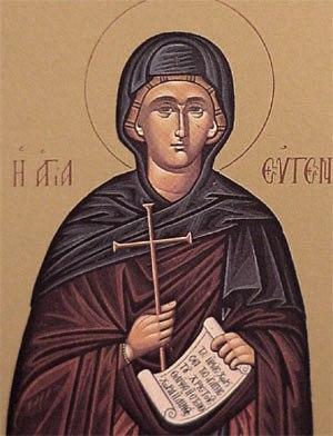 Sainte eugenie d alexandrie 257
