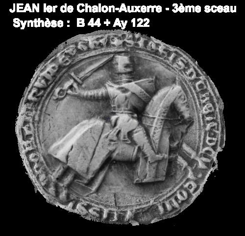 Sceau jean ier de chalon 1190 1267