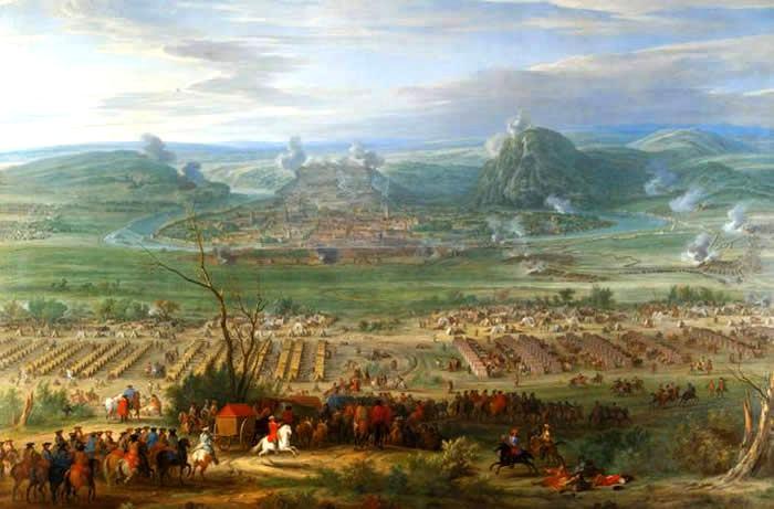 Siege de besancon en 1674