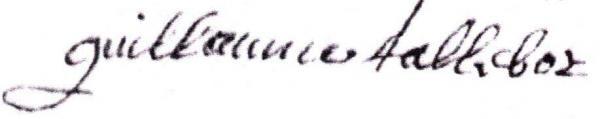 Talbot guillaume 1694