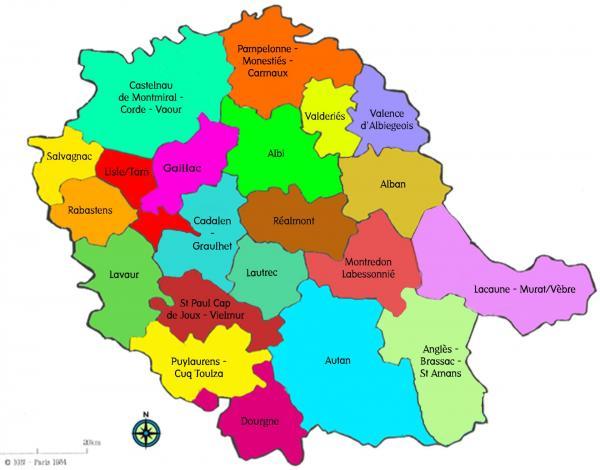 Tarn carte cantons 2015