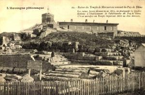 Temple de mercure puy de dome