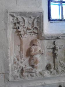 Thiouville seine maritime monument funeraire marie de dampierre