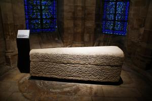 Sarcophage de la reine Aregonde