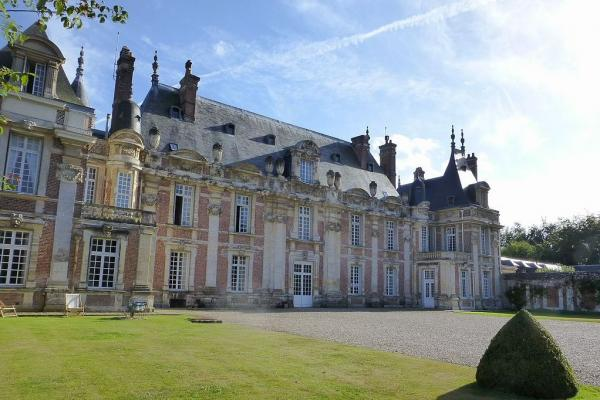 Tourville sur arques seine maritime le chateau de miromesnil