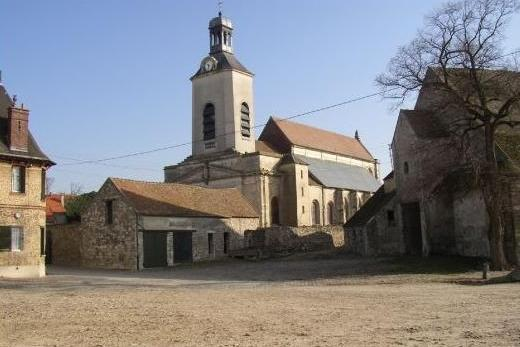 Tremblay en france seine saint denis l eglise saint medard