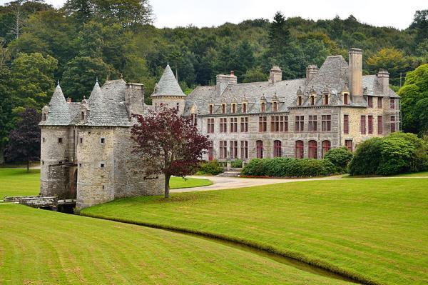 Urville nacqueville manche le chateau