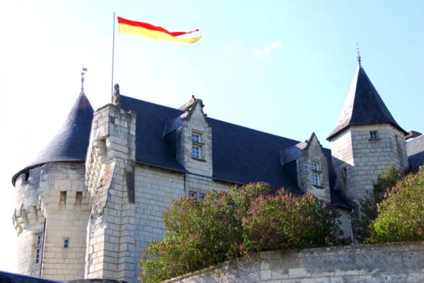 Usseaux vienne le chateau de la motte