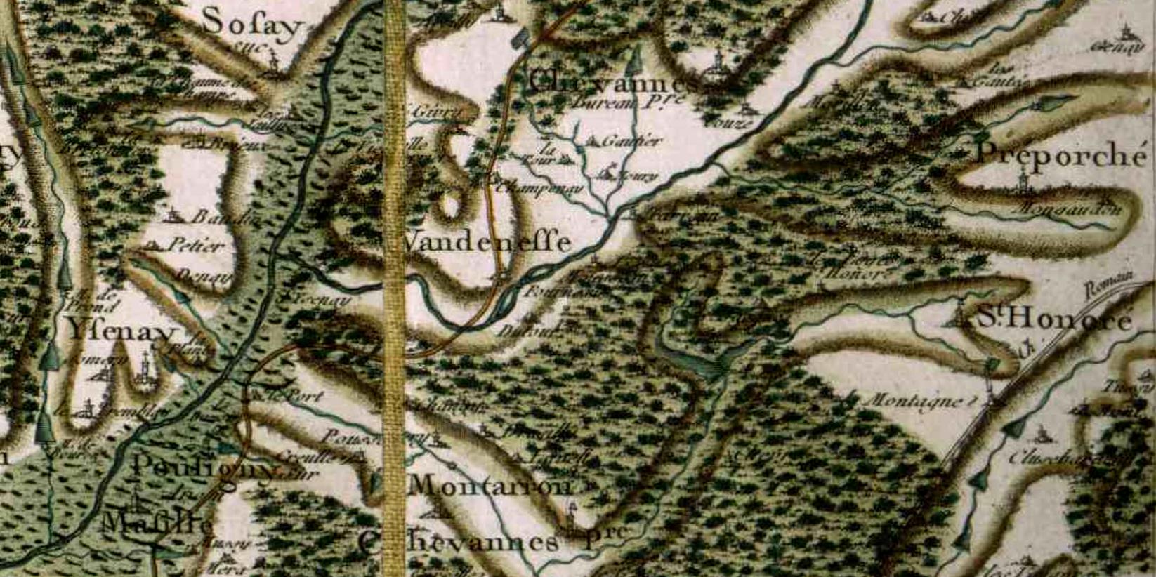 Vandenesse cassini