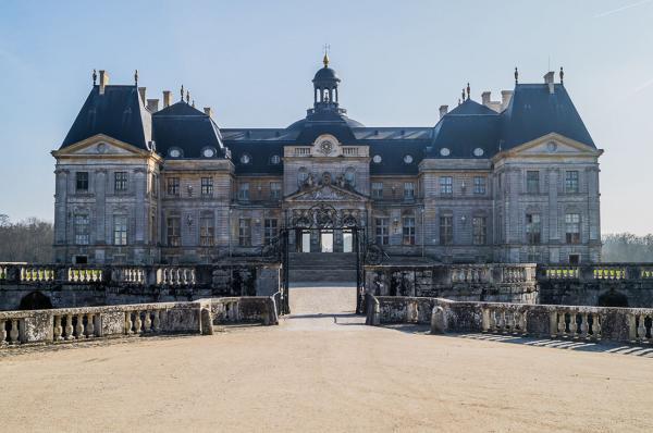 Vaux le vicomte seine et marne le chateau
