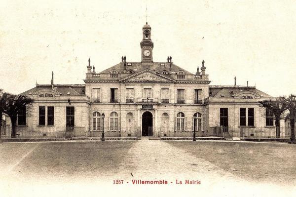 Villemomble seine saint denis le chateau seigneurial mairie cpa