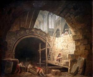 Violation des tombeaux de la nécropole en 1793