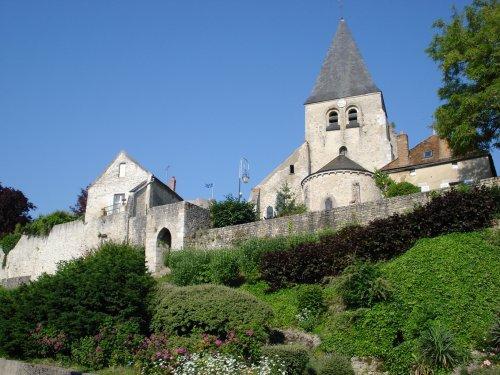 Yevre le chatel loiret l eglise saint gault