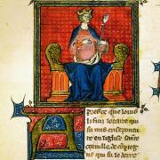 Hugues Capet sur son trône
