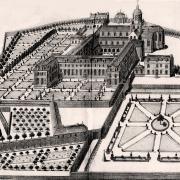 Ancienne abbaye Notre-Dame de Bernay en 1687