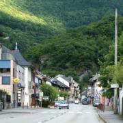 Aiguebelle (Savoie) Panoramique CPA