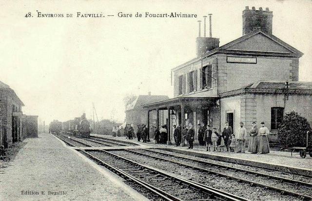 Alvimare (Seine-Maritime) Gare de Foucart-Alvimare vers 1907CPA