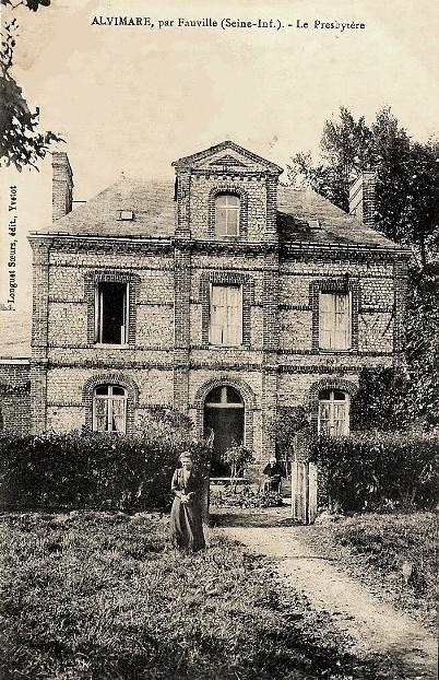 Alvimare (Seine-Maritime) Presbytère CPA