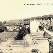 Amblainville oise cpa place et ecoles