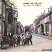 Amblainville oise cpa rue de la halle