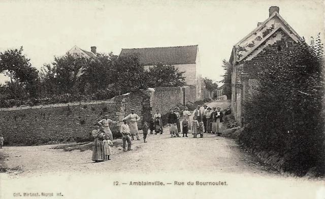 Amblainville oise cpa rue du bournoulet