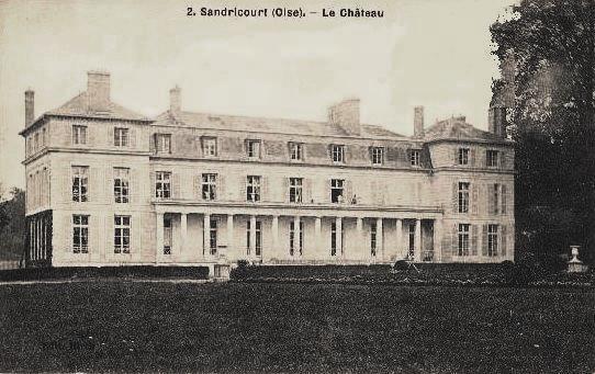 Amblainville oise cpa sandricourt chateau