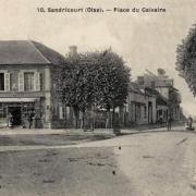 Amblainville oise cpa sandricourt place du calvaire