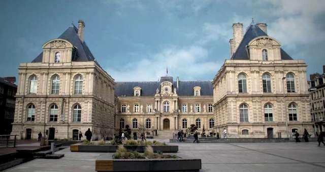 Amiens somme l hotel de ville