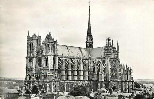 Amiens somme la cathedrale notre dame