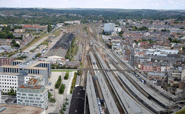 Amiens somme la gare du nord