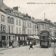 Amiens somme la rue de beauvais cpa
