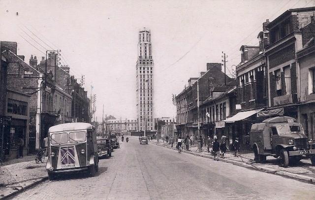 Amiens somme la tour perret cpa