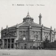 Amiens somme le cirque cpa