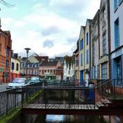 Amiens somme le quartier saint leu