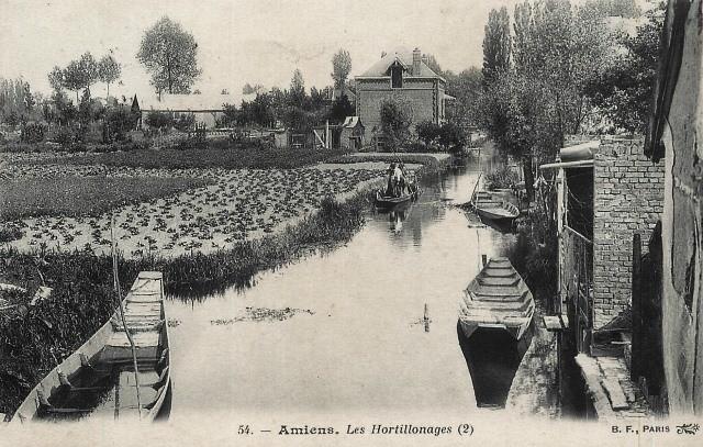 Amiens somme les hortillonages cpa