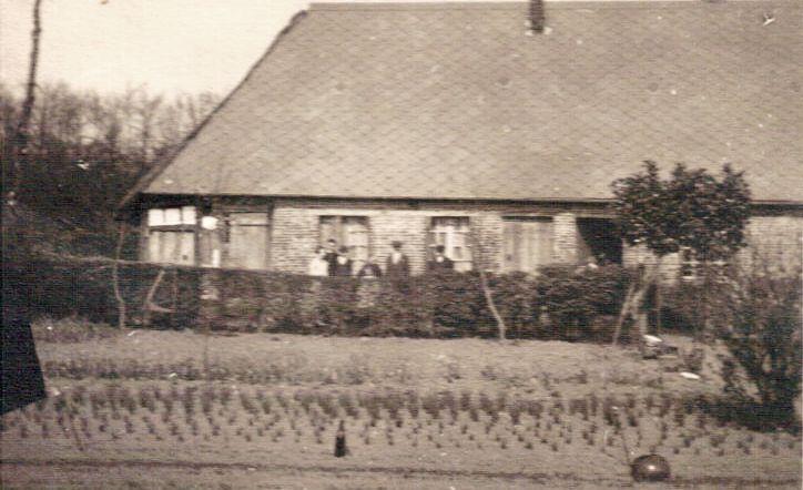 Ancourteville, la maison en 1932 d'Alexandre et Hirma Lemonnier