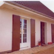 Ancourteville, domicile Marcelle et Maurice Bourrié de 1978 à 1992